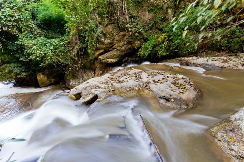 Région naturelle de cascade photo libre de droits