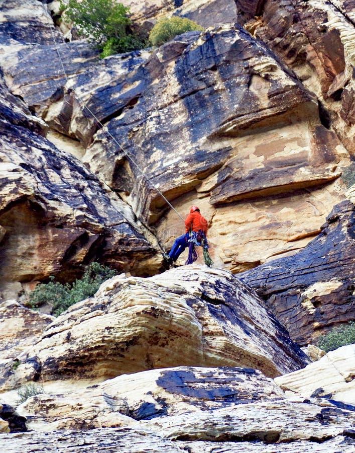 Région rouge de conservation de roche, Nevada du sud image libre de droits