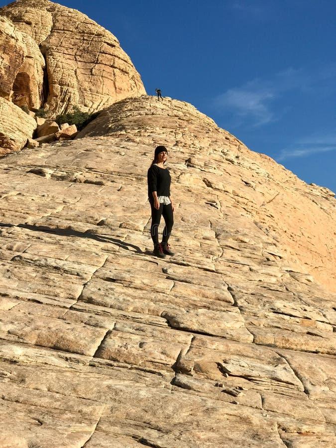 Région rouge de conservation de roche, Nevada, Etats-Unis photo libre de droits