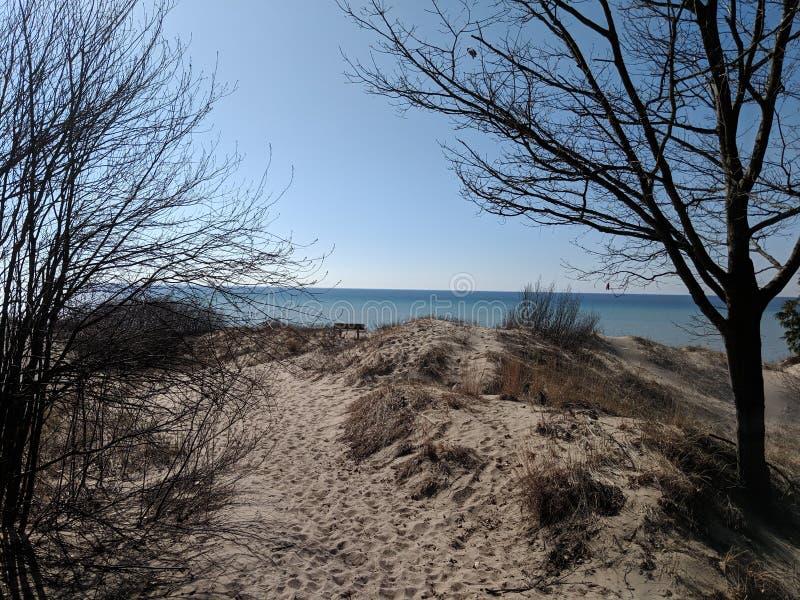 Région sauvage de dunes de Nordhouse photo stock