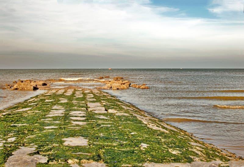 Régions côtières photo libre de droits