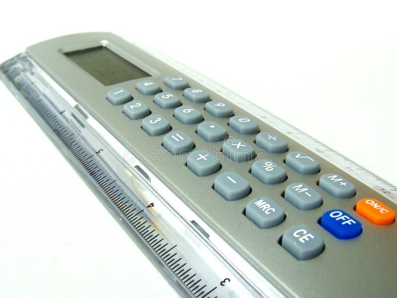 Régua/calculadora Fotos de Stock Royalty Free