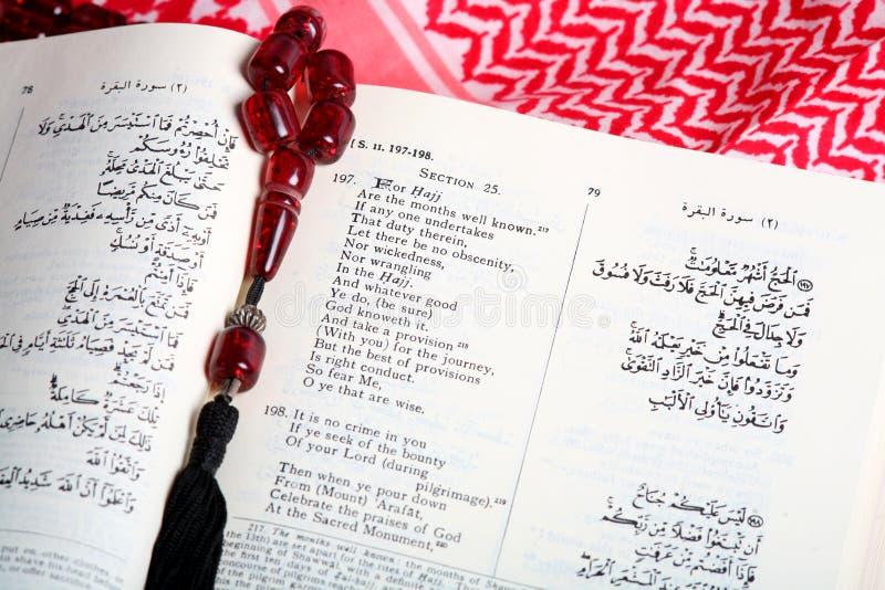 Réguas da peregrinação muçulmana fotografia de stock royalty free