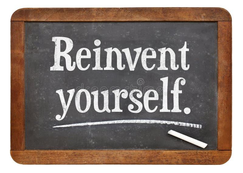 Download Réinventez-vous photo stock. Image du inspiration, texte - 45364822