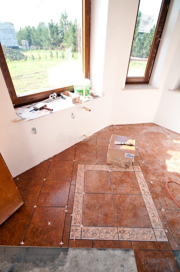 Rénovation à la maison photo stock