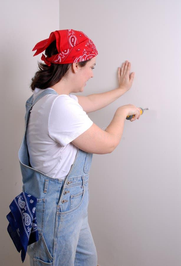 Rénovation à la maison images stock