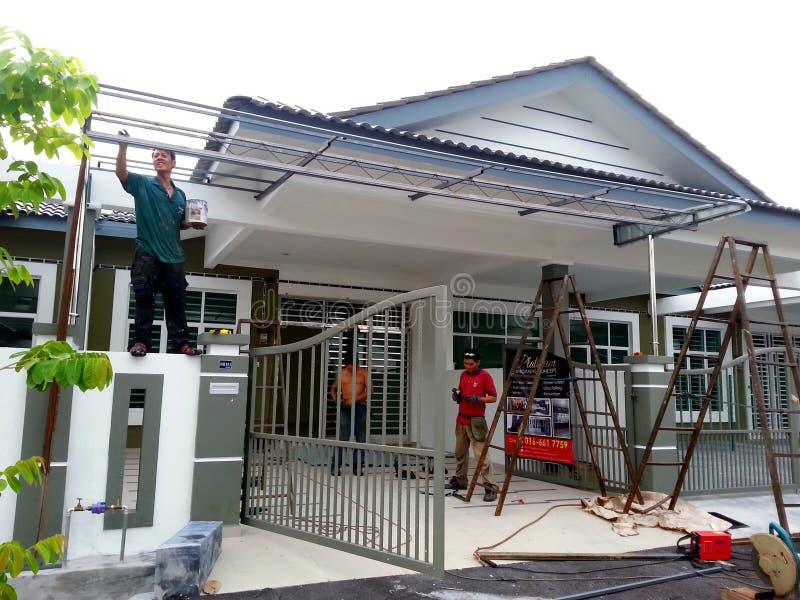 Rénovation à la maison, amélioration de l'habitat photo libre de droits
