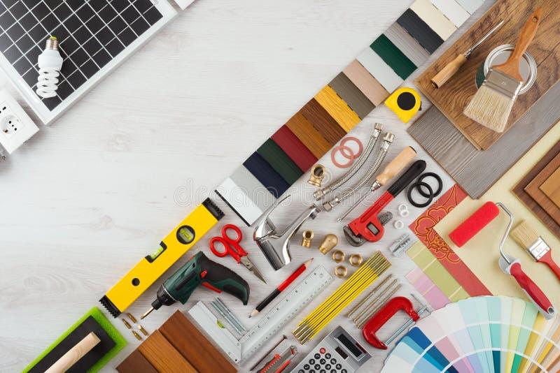 Rénovation à la maison et DIY images libres de droits