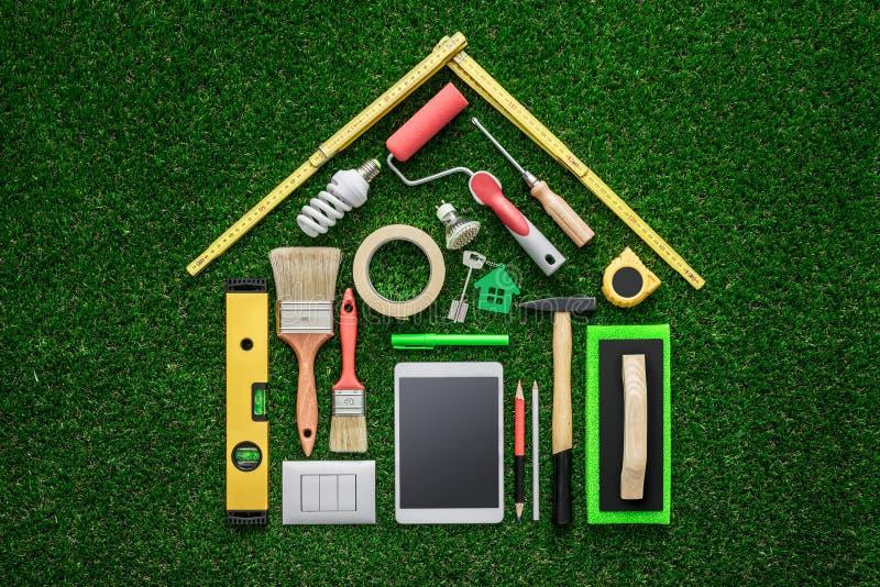 Rénovation à la maison et DIY image libre de droits