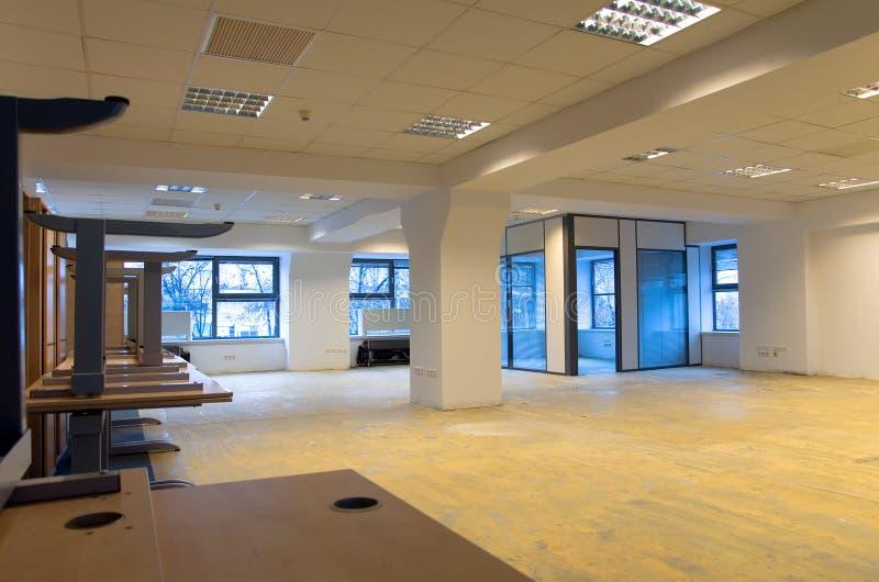 Rénovation de bureaux images libres de droits