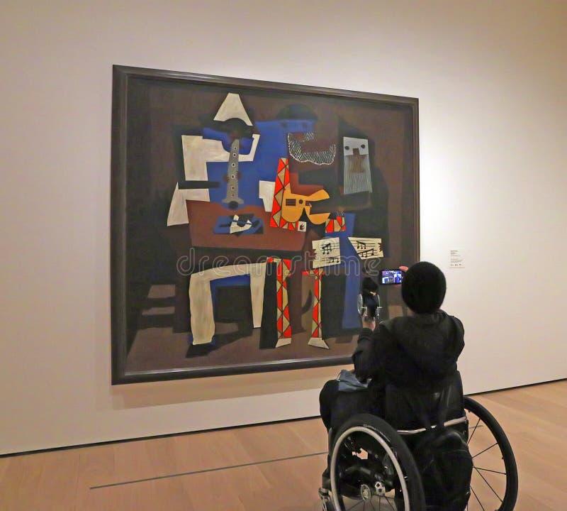 Réouverture de MOMA après rénovation photos libres de droits