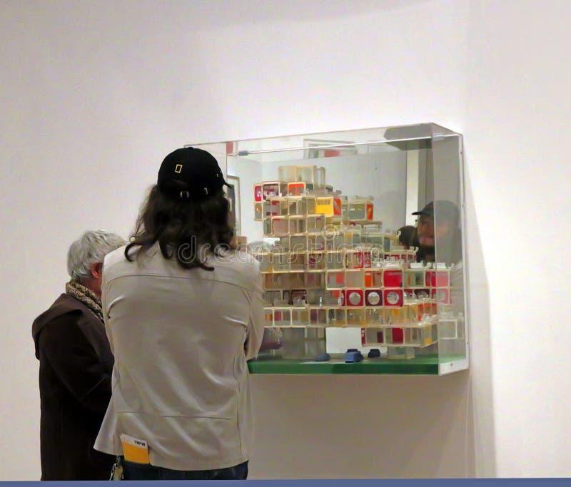 Réouverture de MOMA après rénovation photos stock