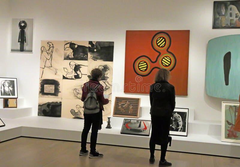 Réouverture de MOMA après rénovation photo stock
