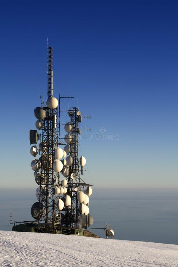 répéteur d'antenne photographie stock libre de droits