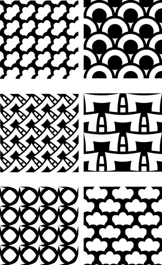 Répétition de la configuration de tuile illustration stock
