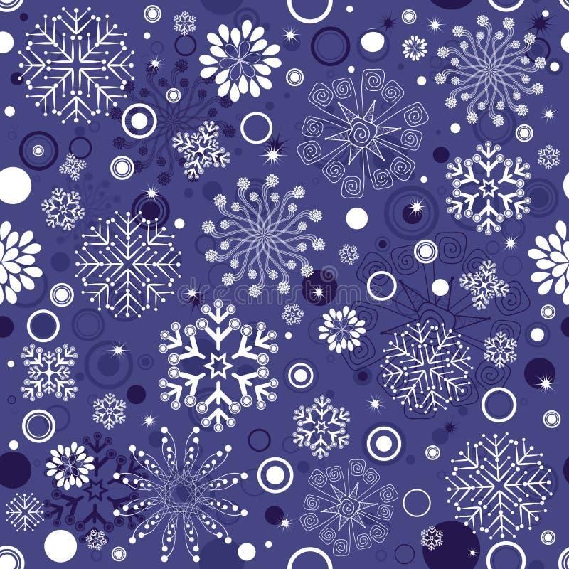 Répétition de la configuration violette de Noël illustration de vecteur