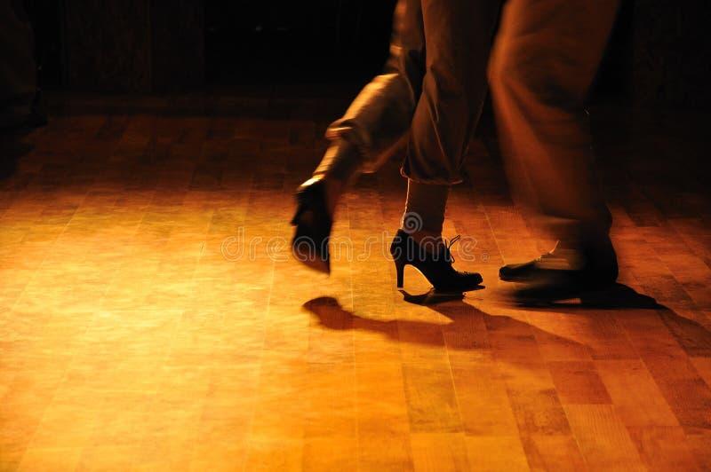 Répétition de tango photo stock
