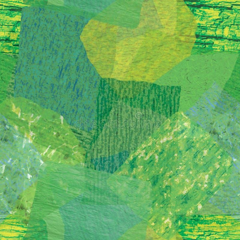 Répétition verte de papier de soie de soie photo libre de droits