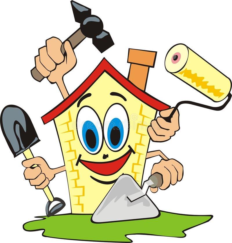 Réparation à la maison illustration libre de droits