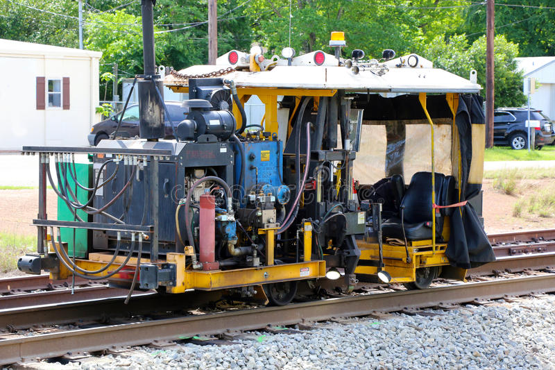 Réparation de voie ferrée image libre de droits