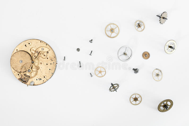 Réparation des montres image libre de droits