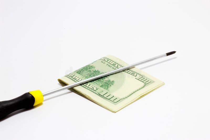 Réparez l'argent photos libres de droits