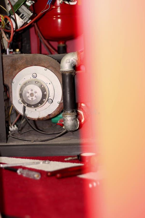 Réparez le four sur le granule - image photos libres de droits