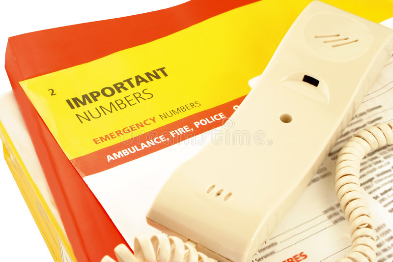 Répertoires de téléphone photographie stock libre de droits