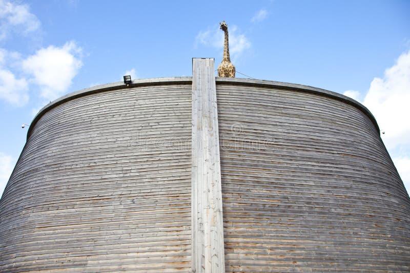 Réplica da arca de Noah fotos de stock