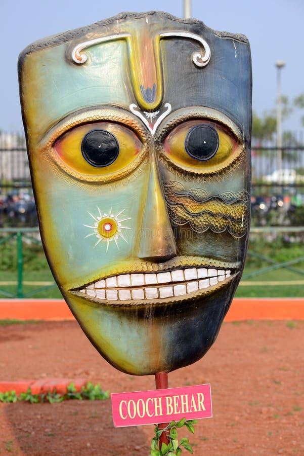 Réplica da máscara foto de stock royalty free