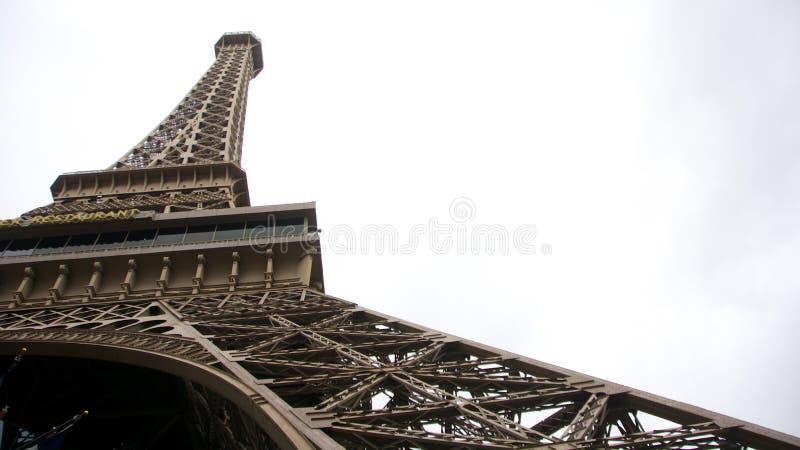 Réplica da torre de Paris, Las Vegas fotos de stock