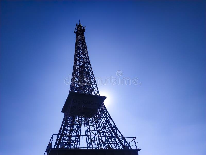 Réplica da torre Eiffel imagem de stock royalty free