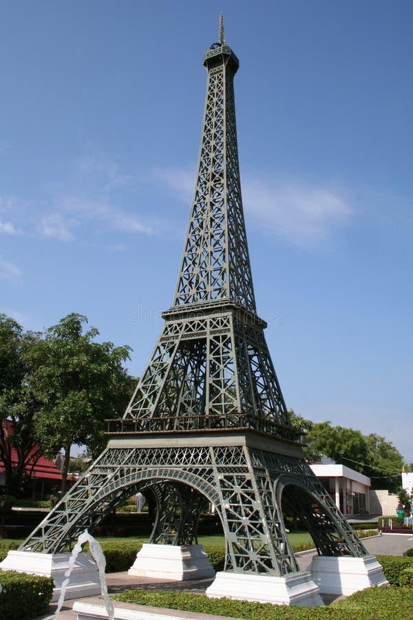 Réplica da torre Eiffel fotos de stock royalty free