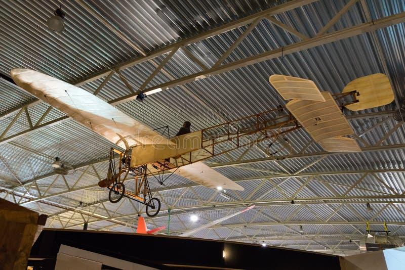 Réplica de aviões de Bleriot imagem de stock royalty free