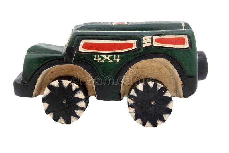 Réplica de madeira do brinquedo fotos de stock