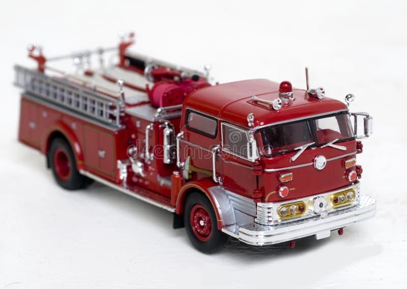 Réplica do carro de bombeiros fotografia de stock