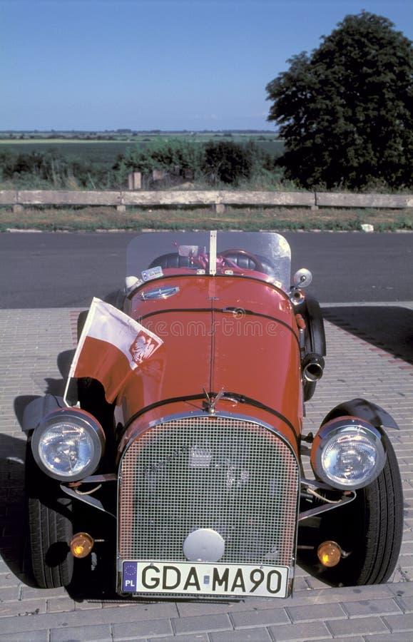 Réplica do carro velho foto de stock