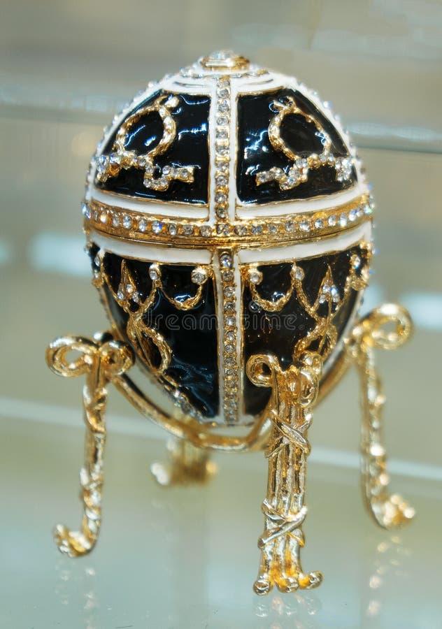 Réplica do ovo de Faberge fotos de stock royalty free