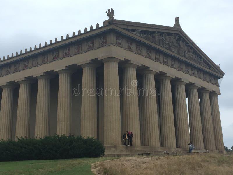 Réplica Nashville TN do Partenon fotografia de stock