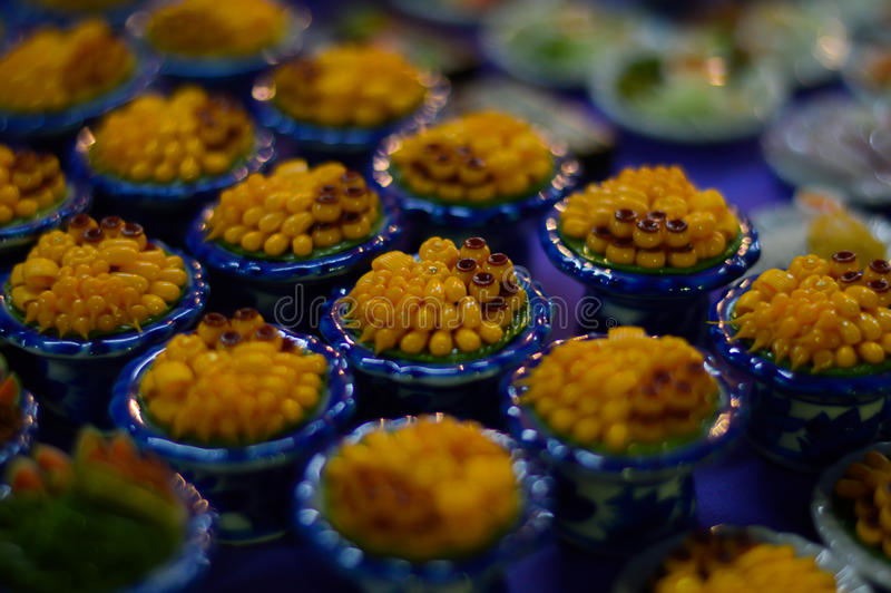 Réplica pequena do alimento fotografia de stock royalty free