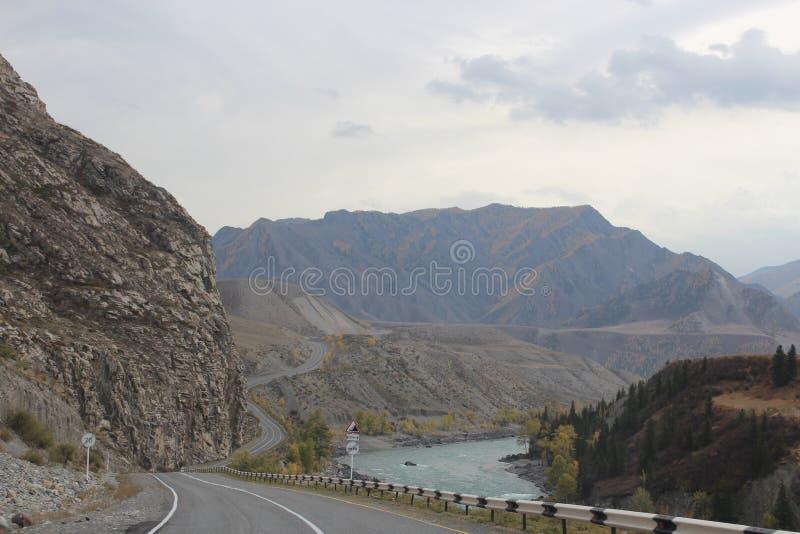 République d'Altai images stock