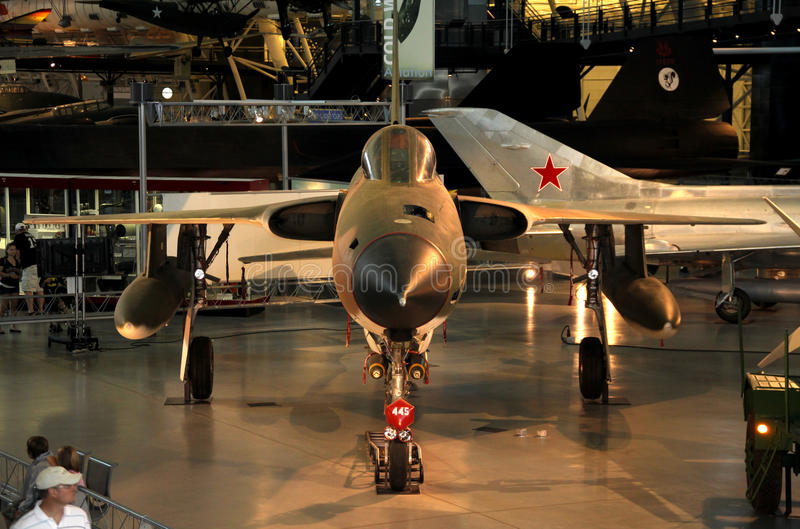 République F-105 Thunderchief/air national et musée d'espace photos libres de droits