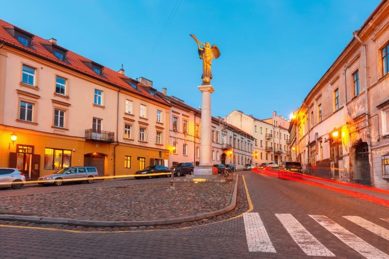 République indépendante Uzupis à Vilnius, Lithuanie images stock