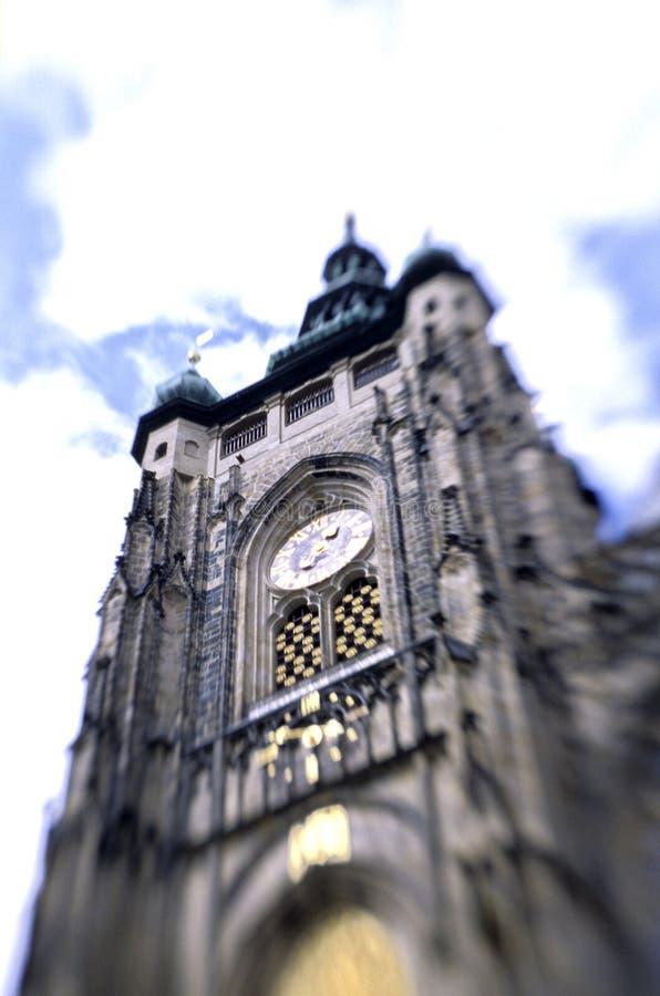 république tchèque de Prague d'horloge astronomique photographie stock libre de droits