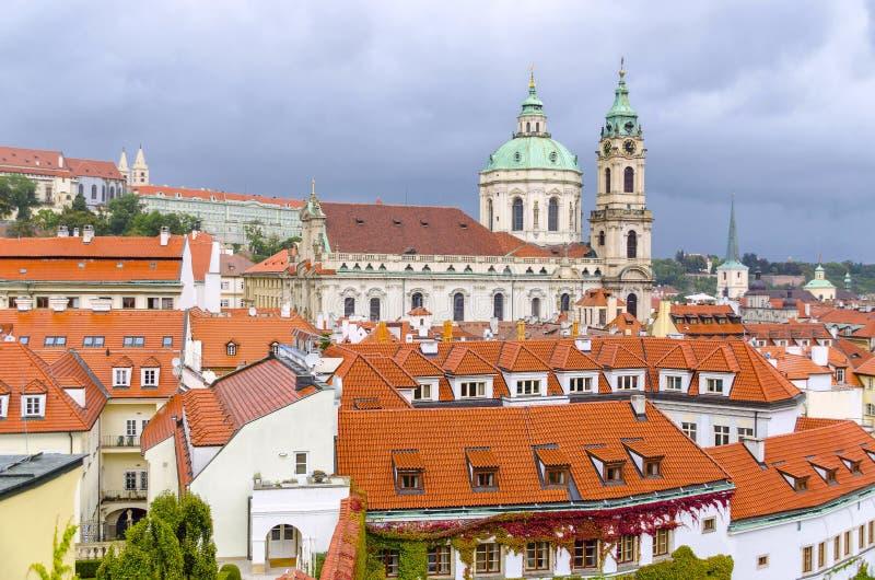 République Tchèque, Prague - jardin du 18ème siècle de vrtba (za de Vrtbovska images libres de droits