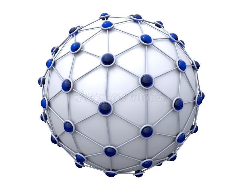 réseau illustration de vecteur