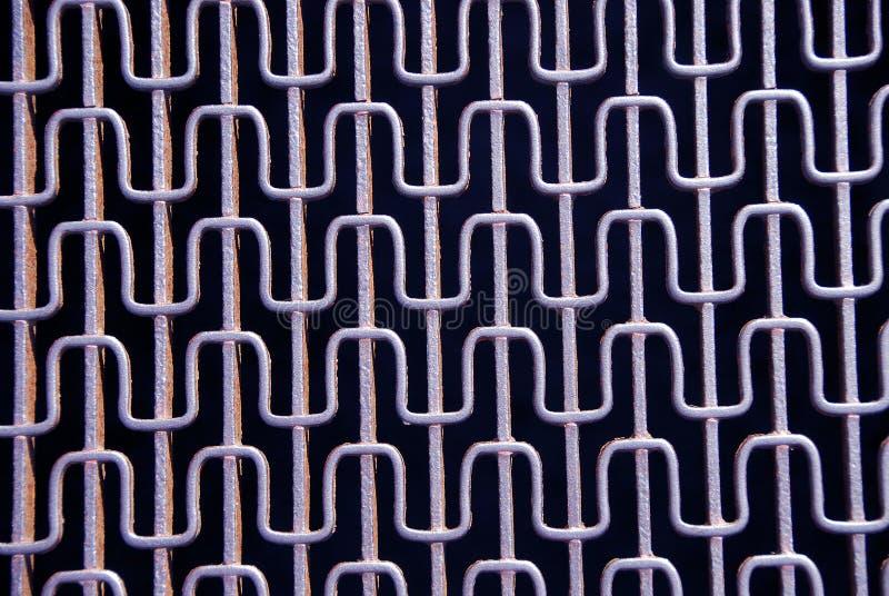 Réseau abstrait en métal photo libre de droits