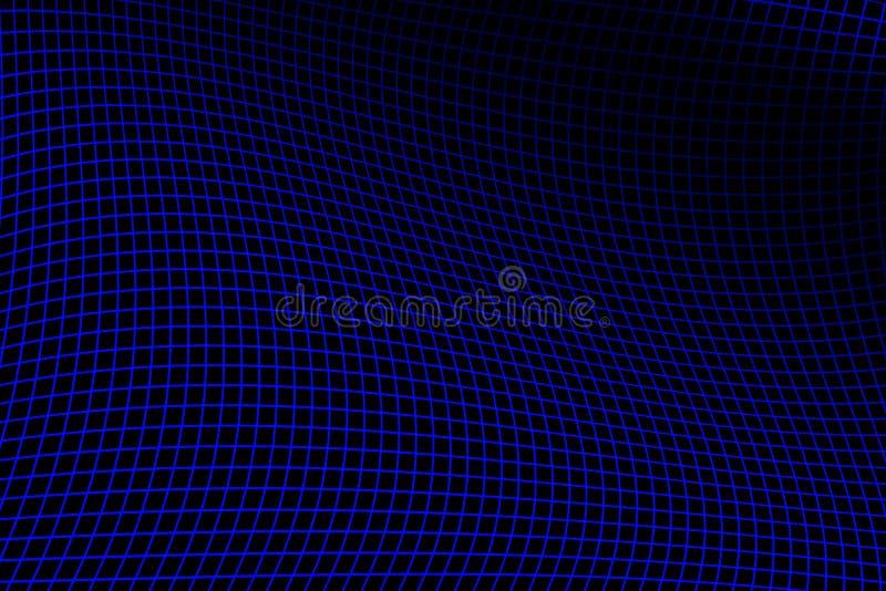 Réseau bleu électrique photographie stock libre de droits