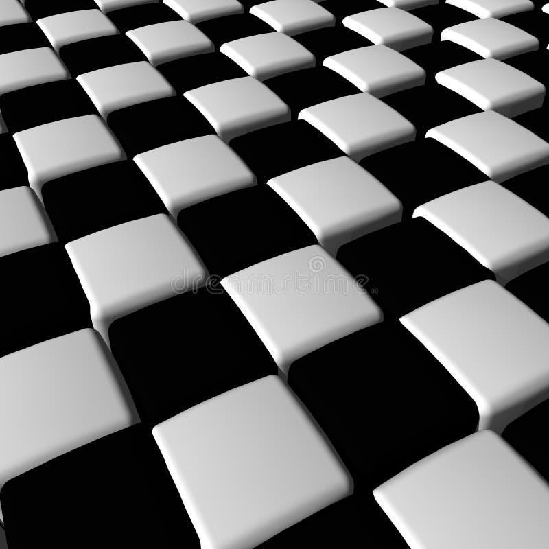 Réseau Checkered illustration de vecteur