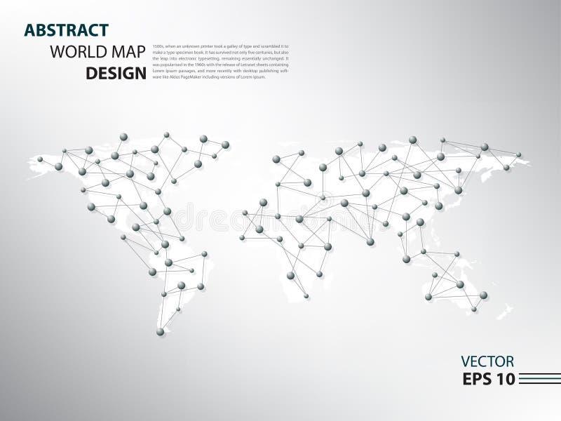 Download Réseau D'araignée De Worldmap Infographic Illustration de Vecteur - Illustration du présentation, conception: 76090293